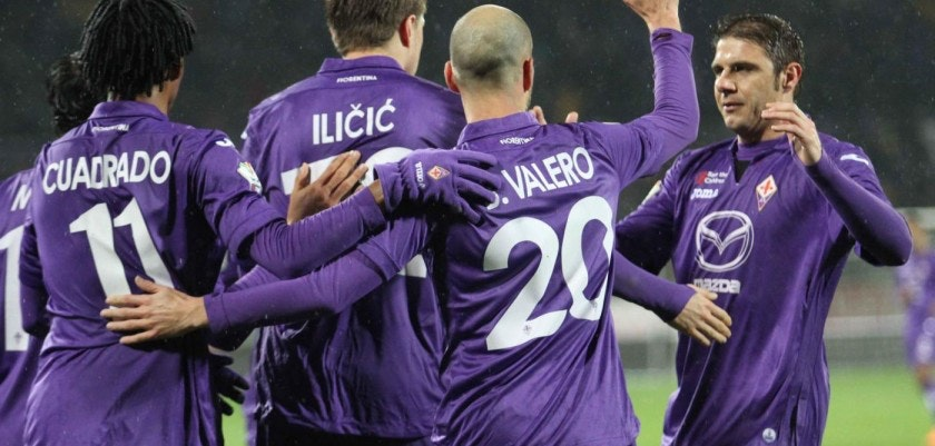 Fiorentina vs Siena- TIM CUP 2013/2014