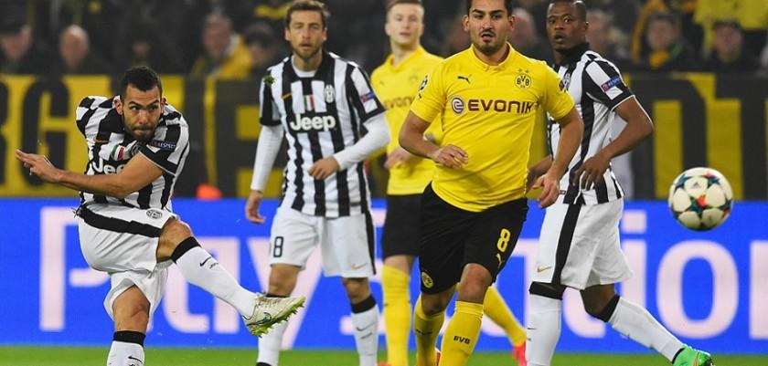 Gol Tevez Borussia