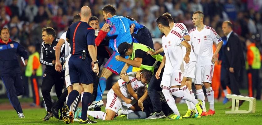 Image: Serbia vs Albania