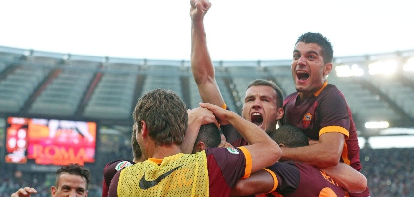 Soccer: Serie A; Roma-Juventus