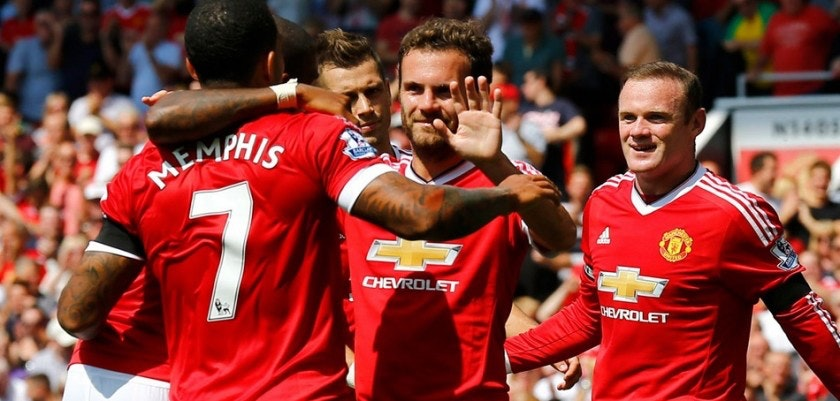 Depay Rooney Mata