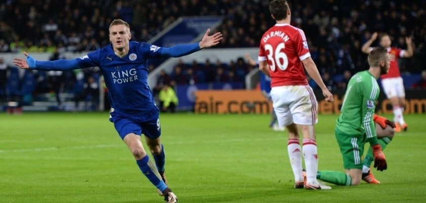 Vardy Manchester United