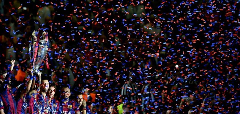 copertina champions