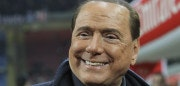 MILAN, ITALY - MARCH 20:  AC Milan president Silvio Berlusconi looks on before the Serie A match between AC Milan and SS Lazio at Stadio Giuseppe Meazza on March 20, 2016 in Milan, Italy.  (Photo by Marco Luzzani/Getty Images)