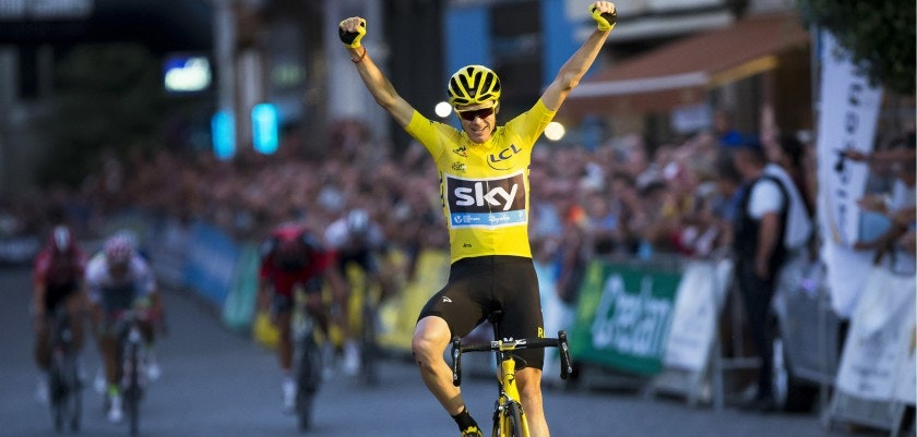 copertina froome