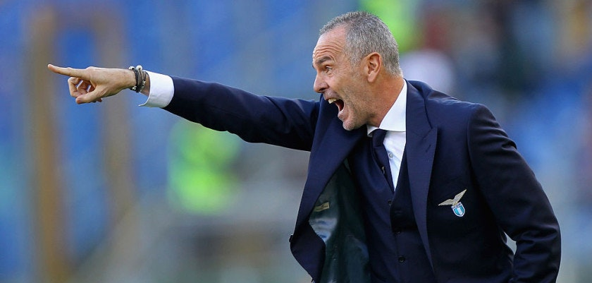 ROME, ITALY - NOVEMBER 08:  SS Lazio head coach Stefano Pioli gestures during the Serie A match between AS Roma and SS Lazio at Stadio Olimpico on November 8, 2015 in Rome, Italy.  (Photo by Paolo Bruno/Getty Images)