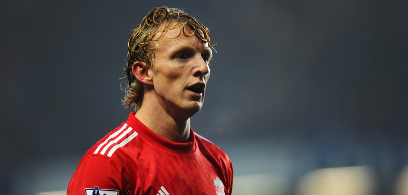 LONDON, ENGLAND - NOVEMBER 20:  Dirk Kuyt of Liverpool looks on during the Barclays Premier League match between Chelsea and Liverpool at Stamford Bridge on November 20, 2011 in London, England.  (Photo by Mike Hewitt/Getty Images)