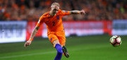 AMSTERDAM, NETHERLANDS - OCTOBER 10:  Rick Karsdorp of the Netherlands in action during the FIFA 2018 World Cup Qualifier between Netherlands and France held at Amsterdam Arena on October 10, 2016 in Amsterdam, Netherlands.  (Photo by Dean Mouhtaropoulos/Getty Images)