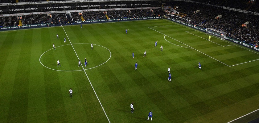 LONDON, ENGLAND - JANUARY 04: General view inside the stadium during the Premier League match between Tottenham Hotspur and Chelsea at White Hart Lane on January 4, 2017 in London, England.  (Photo by Mike Hewitt/Getty Images)