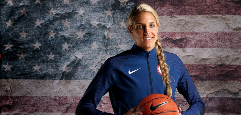 BEVERLY HILLS, CA - MARCH 09:  Basketball player Elena Delle Donne poses for a portrait at the 2016 Team USA Media Summit at The Beverly Hilton Hotel on March 9, 2016 in Beverly Hills, California.  (Photo by Sean M. Haffey/Getty Images)