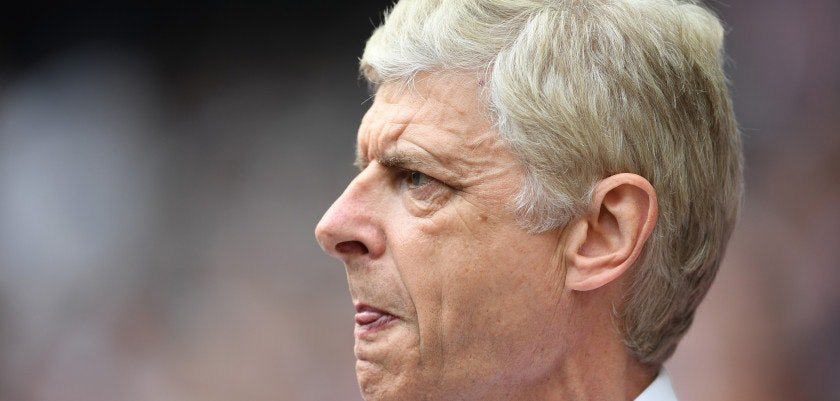 LONDON, ENGLAND - MAY 27:  Arsene Wenger of Arsenal looks on prior to the Emirates FA Cup Final between Arsenal and Chelsea at Wembley Stadium on May 27, 2017 in London, England.  (Photo by Laurence Griffiths/Getty Images)