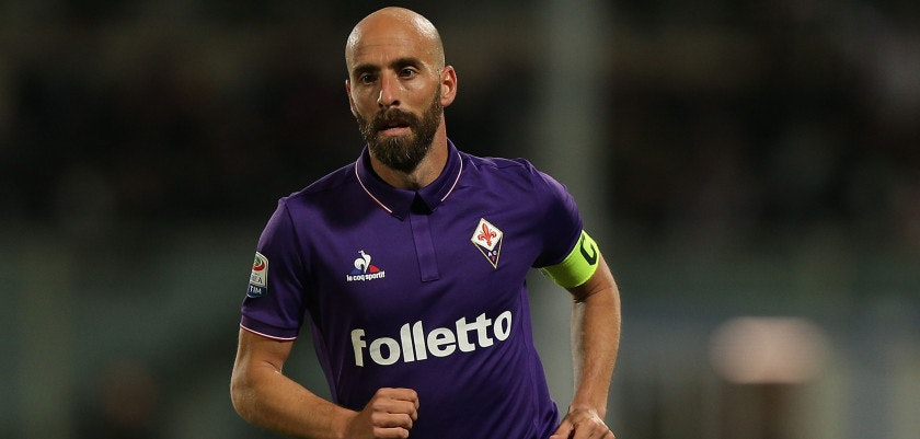 FLORENCE, ITALY - APRIL 22: Borja Valero of ACF Fiorentina in action during the Serie A match between ACF Fiorentina v FC Internazionale at Stadio Artemio Franchi on April 22, 2017 in Florence, Italy.  (Photo by Gabriele Maltinti/Getty Images)