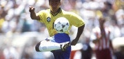 DALLAS, UNITED STATES - JULY 04:  WM 1994, Dallas; BRASILIEN - USA 1:0 (BRA - USA) 1:0; ROMARIO/BRA  (Photo by Michael Kunkel/Bongarts/Getty Images)