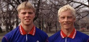 Eidur and Arnor Gudjohnsen