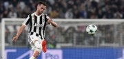 Juventus midfielder Miralem Pjanic kicks the ball during the UEFA Champions League Group D football match Juventus vs Sporting CP at the Juventus stadium on October 17, 2017 in Turin.  / AFP PHOTO / Miguel MEDINA        (Photo credit should read MIGUEL MEDINA/AFP/Getty Images)