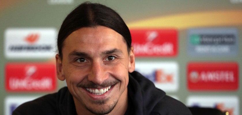 File photo dated 23-11-2016 of Manchester United's Zlatan Ibrahimovic PRESS ASSOCIATION Photo. Issue date: Thursday August 24, 2017. Zlatan Ibrahimovic has re-signed for Manchester United on a one-year deal, the club have announced. See PA story SOCCER Man Utd. Photo credit should read Peter Byrne/PA Wire. LaPresse Only italy Ibrahimovic ritorna al Manchester United  142024