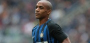 MILAN, ITALY - SEPTEMBER 10:  Joao Mario of FC Internazionale Milano looks on during the Serie A match between FC Internazionale and Spal at Stadio Giuseppe Meazza on September 10, 2017 in Milan, Italy.  (Photo by Emilio Andreoli/Getty Images )