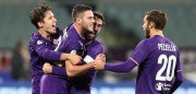 FLORENCE, ITALY - DECEMBER 13: Jordan Veretout of ACF Fiorentina celebrates after scoring a goal during the Tim Cup match between ACF Fiorentina and UC Sampdoria at Stadio Artemio Franchi on December 13, 2017 in Florence, Italy.  (Photo by Gabriele Maltinti/Getty Images)