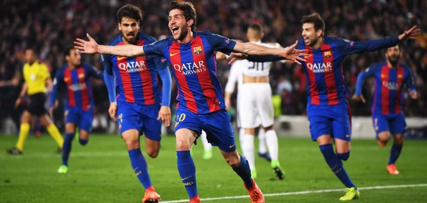 Barcellona PSG 6 1