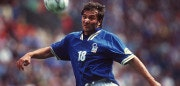 UNITED KINGDOM - JUNE 11:  EURO 1996 ITA - RUS 2:1 Liverpool; Pierluigi CASIRAGHI/Italien  (Photo by Bongarts/Getty Images)