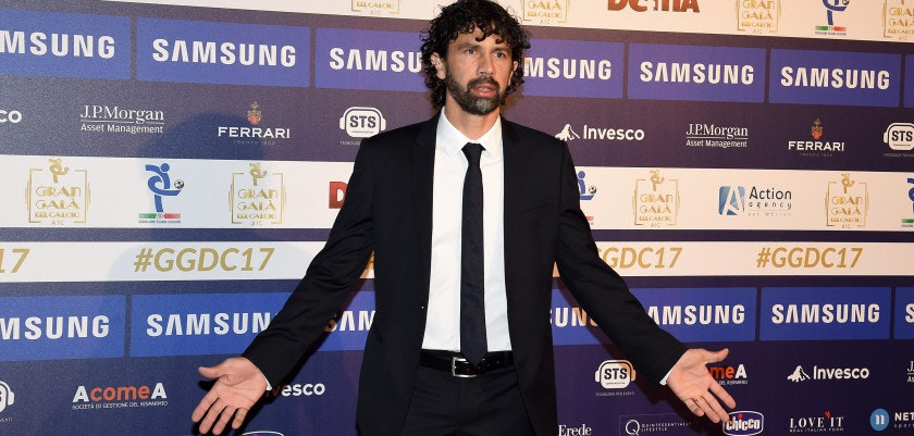 MILAN, ITALY - NOVEMBER 27:  Damiano Tommasi attends the Gran Gala Del Calcio 2017 on November 27, 2017 in Milan, Italy.  (Photo by Pier Marco Tacca/Getty Images)