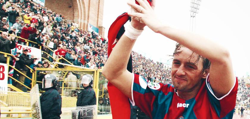Beppe Signori in una foto d'archivio del 2004. ANSA