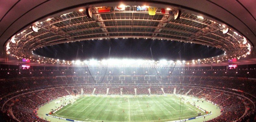 PARIS, FRANCE - JANUARY 12:  FUSSBALL: WM 1998 in FRANKREICH 1/98,'STADE DE FRANCE'in Saint Denis STADION/STADIEN/STADIONUEBERSICHT  (Photo by Andreas Rentz/Bongarts/Getty Images)