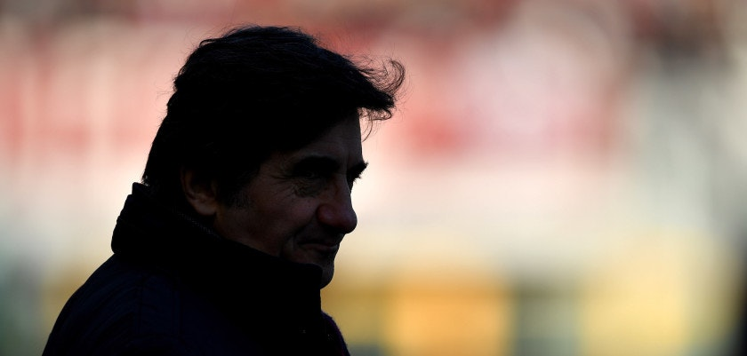 TURIN, ITALY - DECEMBER 30:  Torino FC president Urbano Cairo looks on during the serie A match between Torino FC and Genoa CFC at Stadio Olimpico di Torino on December 30, 2017 in Turin, Italy.  (Photo by Valerio Pennicino/Getty Images)