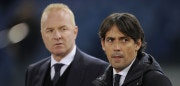 ROME, ROMA - NOVEMBER 23:  SS Lazio head coach Simone Inzaghi and Manager Lazio Igli Tare before the UEFA Europa League group K match between SS Lazio and Vitesse at Olimpico Stadium on November 23, 2017 in Rome, Italy.  (Photo by Marco Rosi/Getty Images)