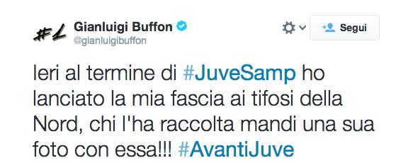 l'hangover di Buffon
