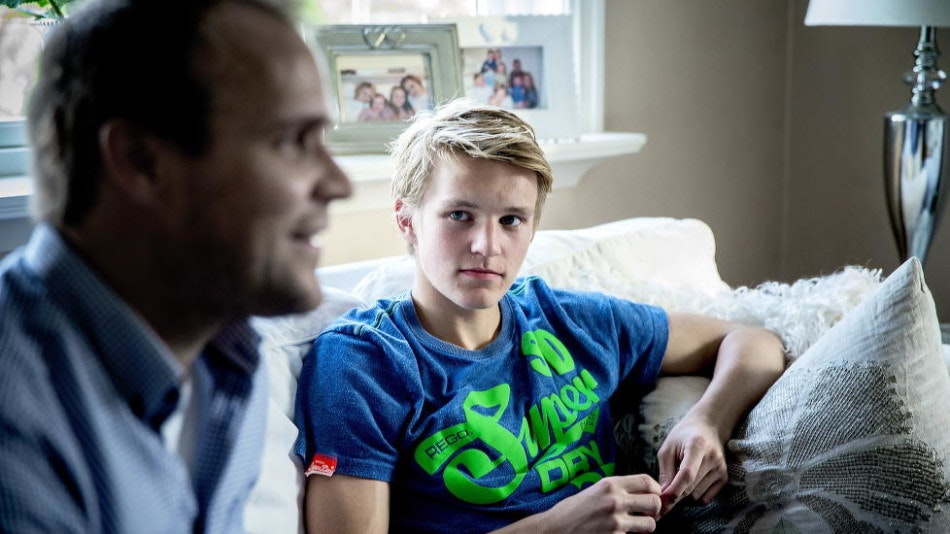 Odegaard e suo padre, www.dagbladet.no