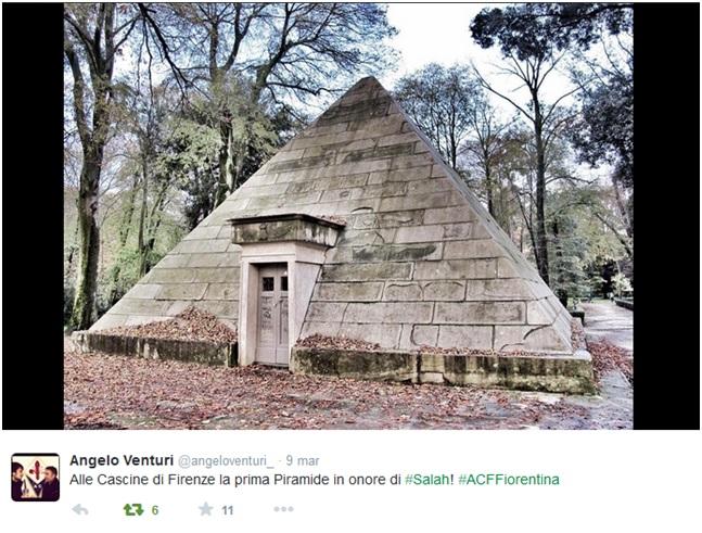 Salah piramide