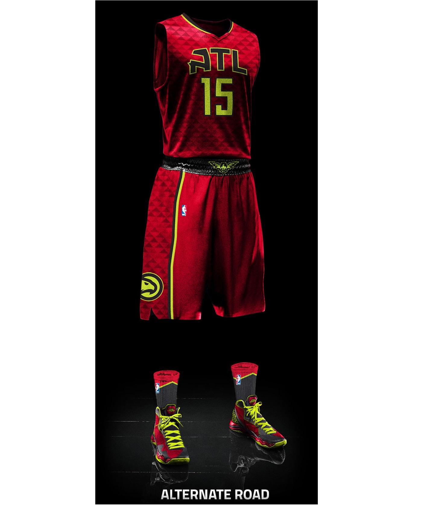 Atlanta Hawks - Alternate jersey