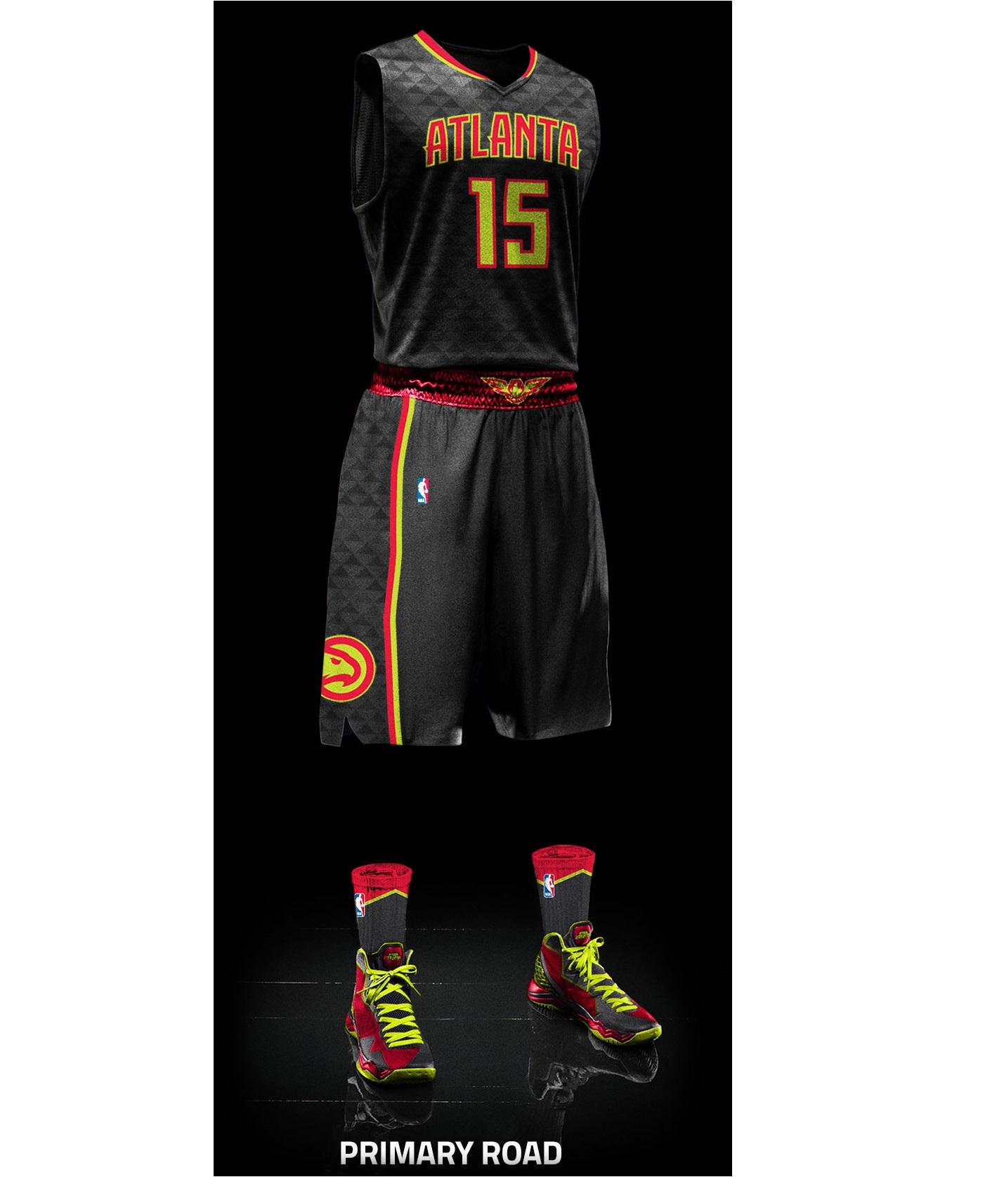 Atlanta Hawks - Away jersey