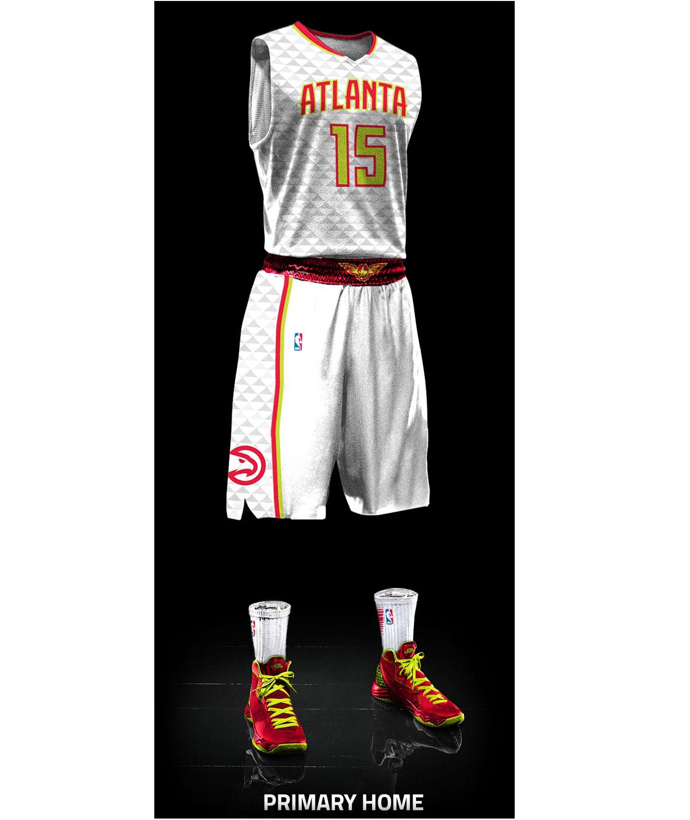 Atlanta Hawks - Home jersey