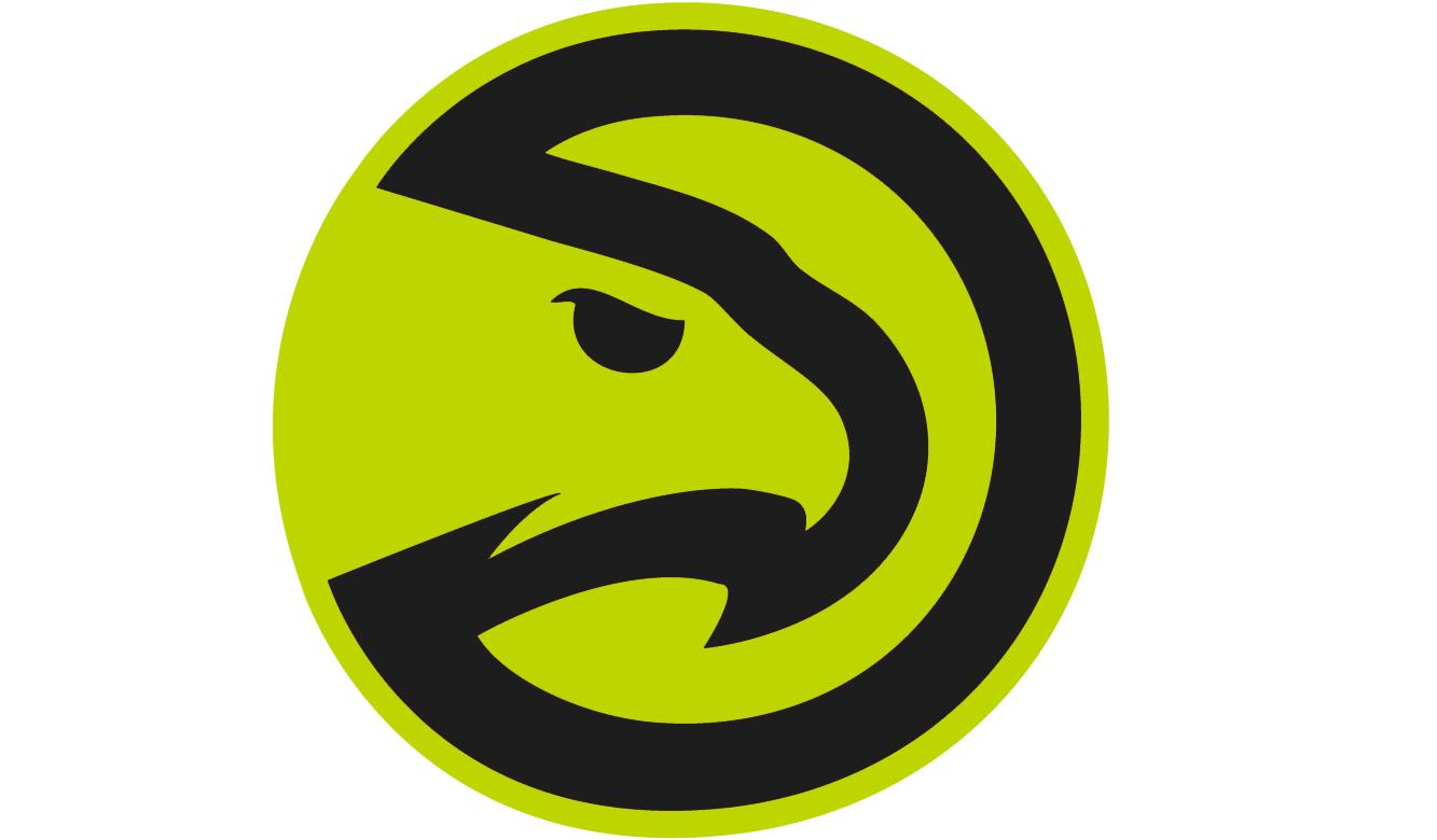 Atlanta Hawks - Partial logo GB
