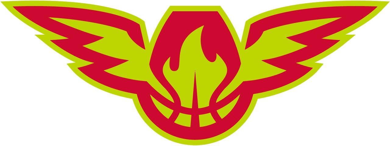Atlanta Hawks - Secondary logo GR