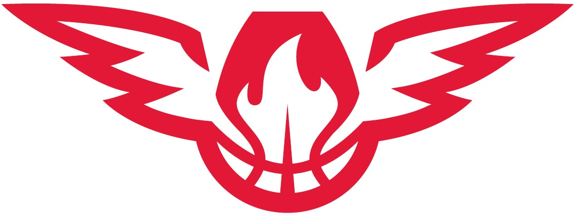 Atlanta Hawks - Secondary logo