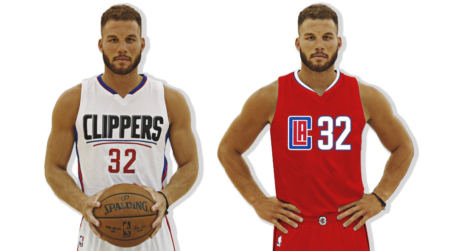 L.A. Clippers - Home_Away jersey