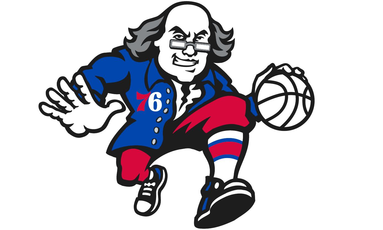 Philadelphia 76ers - Secondary logo 2
