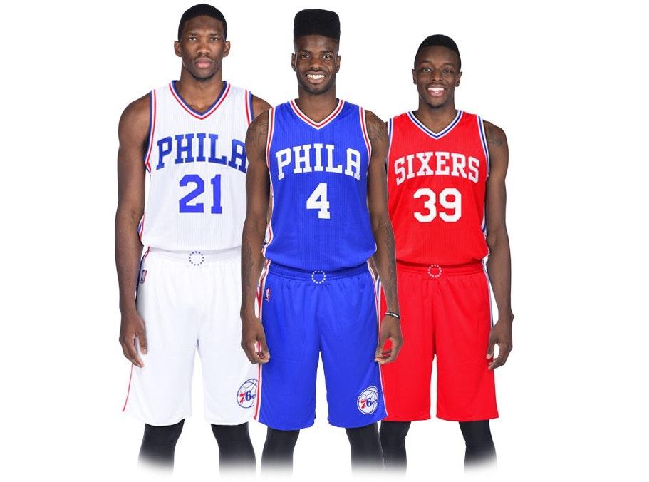 Philadelphia 76ers - Uniforms