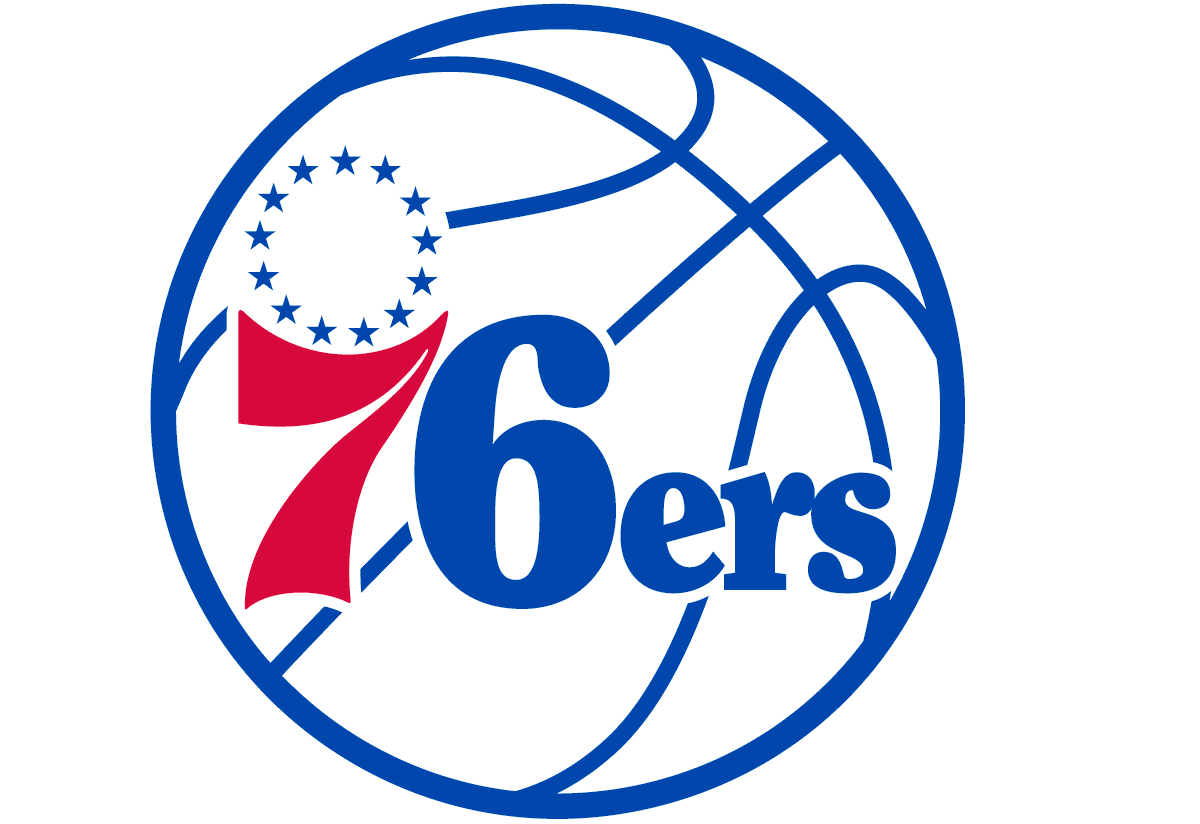 Philadelphia 76ers - Partial primary logo