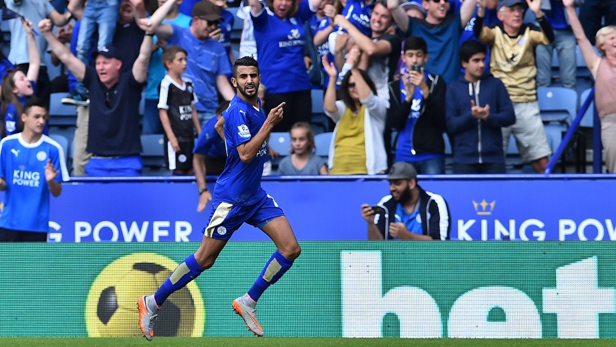 Mahrez al Leicester