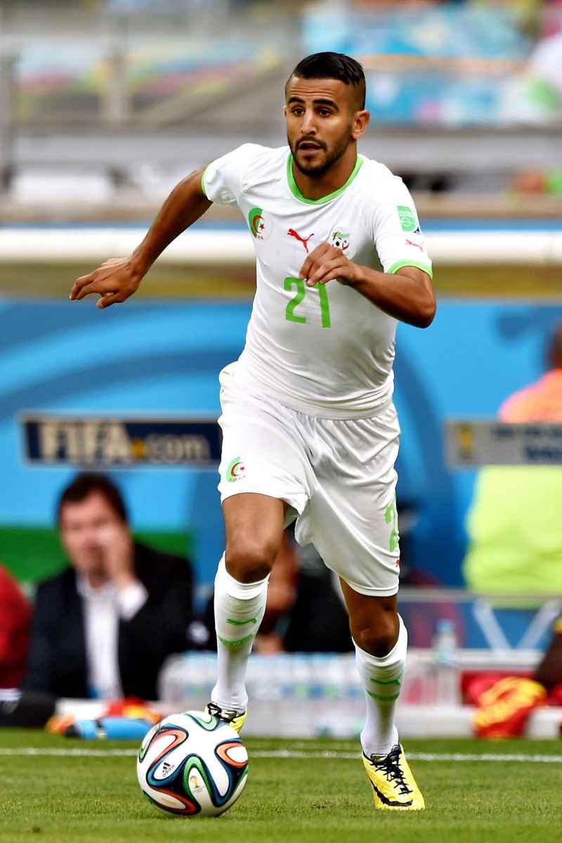 Mahrez in nazionale