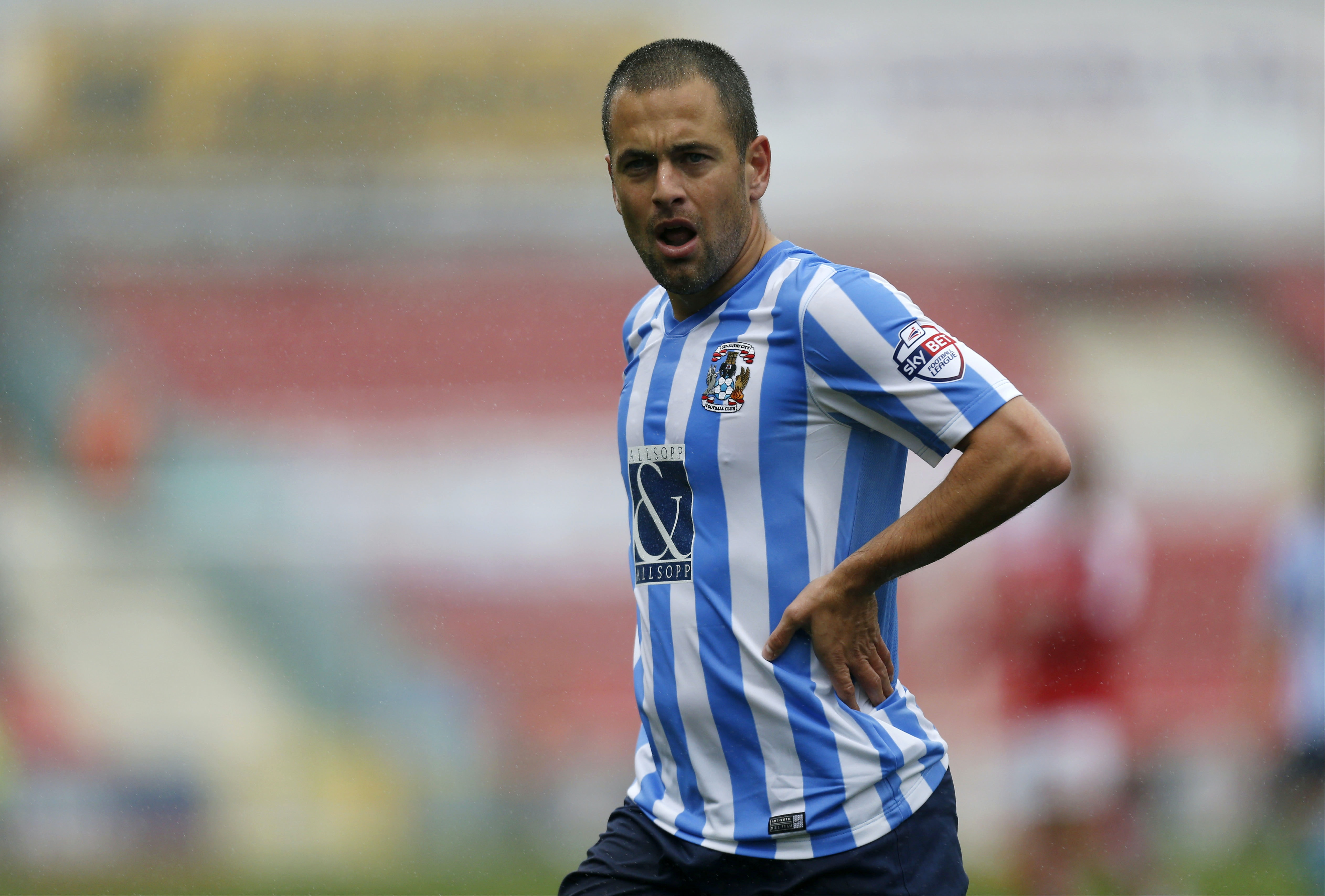 Soccer - Sky Bet League One - Swindon Town v Coventry City - County Ground