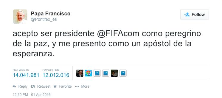 tweet papa - il tweet che ha generato il maggior volume di follow_unfollow nella storia di twitter