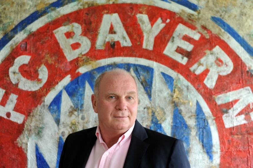 uli-hoeness-fc-bayern-muenchen-fussball-champions-league-arsenal-london