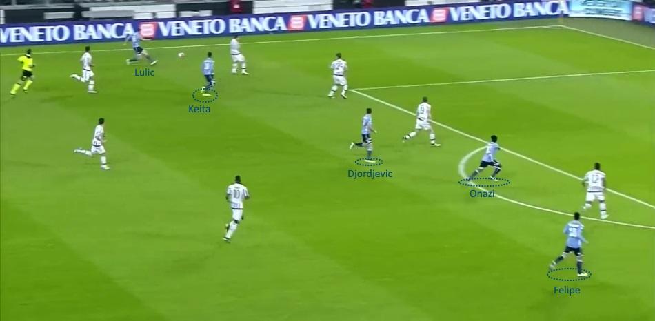 Attacco Lazio