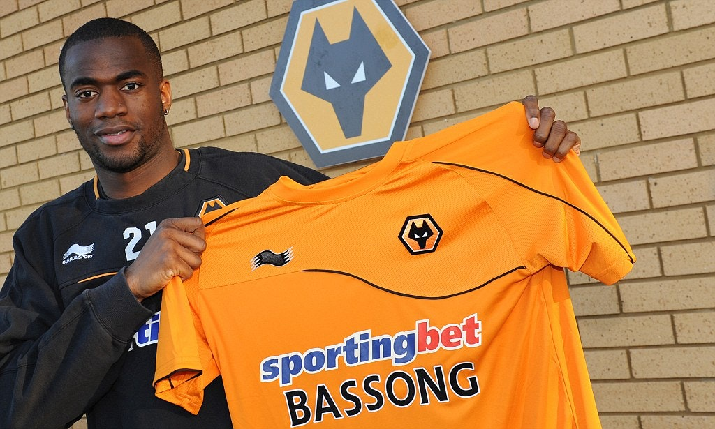 Sebastien Bassong of Wolverhampton Wanderers signs  on loan until the end of the season from Tottenham Hotspur