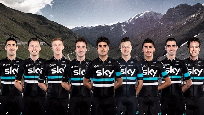 Team Sky for Giro